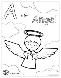 This page has the ABC's of being Catholic in coloring pages for FREE. Each letter gets it's own page for kids to make a book for themselves! I've been looking for a Catholic one!