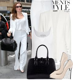 """Celebrity Style-Angelina Jolie"" by eirhnh99 ❤ liked on Polyvore"