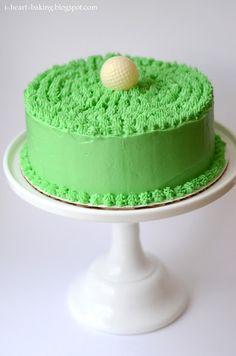DIY Golf cake
