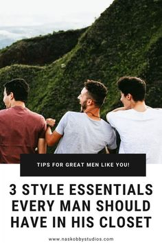 3 Style Essentials Every Man Should Have in His Closet - Nas Kobby Studios Mens Fashion Wear, Men Wear, Style Essentials, Fashion Essentials, Stylish Men, Men Casual, Men's Formalwear, Dress Up Jeans, Corporate Fashion
