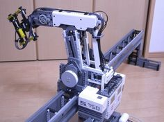 Lego Robot Builds With Lego
