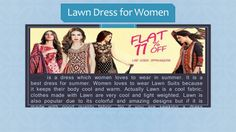 Lawn is a very important dress in summer. Women love to wear it because it keeps their body cool and warm. Women loves to wear   Lawn suits in summer season. Get your Lawn suit online from PakRobe.Also Designer Lawn collection 2016 is now at PakRobe. Contact:(702) 751-3523  Email: Info@PakRobe.com