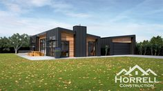 Get started with our architectural and modern house plans - Horrell Construction Tin House, Tiny House Cabin, House Roof, Rural House, Farm House, Modern House Plans, Modern House Design, Home Design, Design Ideas