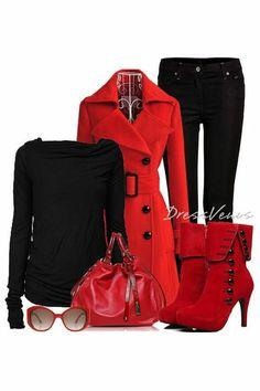 #Beauty #Fashion #Clothing #Outfit #Women #Overcoat #DressVenus.