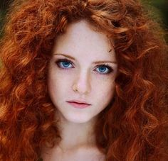 TRUTH:  as a redhead; your hair is the thickest human hair... but we have less of it.  It's heavy and sometimes is like wire.  ahhh my life as a redhead...