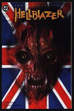 DC Comics Vertigo Press John CONSTANTINE HELLBLAZER #55 Garth Ennis Supernatural Magic Gothic Horror Anti-Super Hero Goth