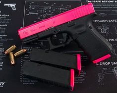 DuraCoat the gun!! I love this idea because 98% of all pink guns are .22 and i want at least a 9mm
