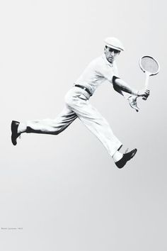 "Rene Lacoste. In the 1920s, the tennis player designed a short-sleeved cotton knit shirt with a longer tail so it would not pull out when he was playing tennis. Nicknamed ""the crocodile"", the designer decided to mark his shirt with a crocodile logo. The Lacoste shirt became popular in general sportswear."
