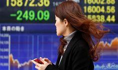 """""""نيكي"""" ينخفض 0.09% ببداية التعامل في بورصة…: انخفض مؤشر نيكي القياسي في بداية التعامل في بورصة طوكيو للأوراق المالية اليوم الجمعة. وهبط…"""