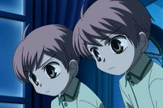 Ouran high school host club the twins as kids