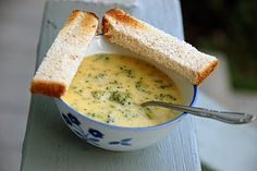 broccoli and cheese soup one of the best types of soup Broccoli Cheese Soup, Broccoli Cheddar, Cheddar Cheese, Cheesey Broccoli, Cheddar Soup Recipe, Soup Recipes, Cooking Recipes, Yummy Recipes, Recipies