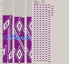 13 around tubular bead crochet rope pattern Bead Crochet Patterns, Bead Crochet Rope, Peyote Patterns, Beading Patterns, Seed Bead Jewelry, Seed Beads, Beaded Jewelry, Beaded Bracelets, Beaded Crafts
