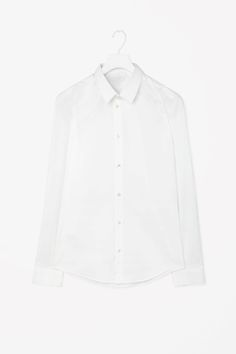 Slim-fit cotton shirt