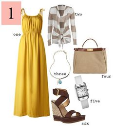 Class to night out: maxi dress