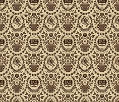Pax Neo-Classical 1h fabric by muhlenkott on Spoonflower - custom fabric