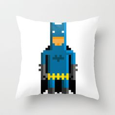 Bitman Throw Pillow by Pahito - $20.00