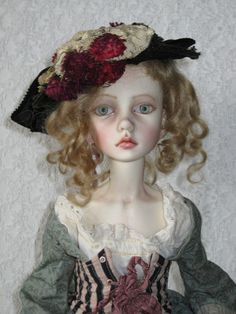 "Dollstown ""Amy"" SD BJD Doll By Connie Lowe Of Marbled Halls 