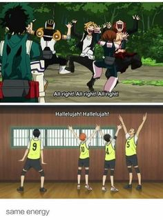 Memes for a little anime about volleyball.welcome to the club, it's… # Aléatoire # amreading # books # wattpad Boko No Hero Academia, My Hero Academia Memes, Hero Academia Characters, My Hero Academia Manga, Fictional Characters, Fandom Crossover, Anime Crossover, Dark Fantasy, Anime Bebe