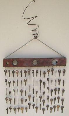 con las llaves que sobran ;)