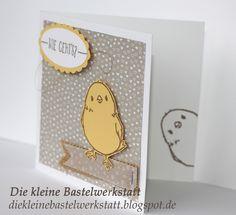 Stampin up Frühling 2016 Sale-a-bration 2016 Küken Grusskarte Karte Designerpapier