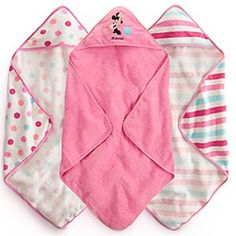 Disney Minnie Mouse Hooded Towel Set for Baby - Personalizable | Disney Store