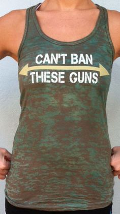 "workout gear..ha ha. Okay don't actually have ""guns"" but couldn't resist. This is a political statement I could get behind"