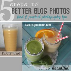 fantastic post teaches you 5 ways to improve your food, product, and blog photography - look at the difference between the two photos! from itsalwaysautumn.com #photography