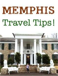 Planning a trip to the Memphis, or maybe your just curious about what there is to do in the home of Graceland? Don't miss this fun Memphis Travel Guide! BEWARE: Graceland is in a bad neighborhood! Need A Vacation, Vacation Places, Vacation Trips, Vacation Spots, Places To Travel, Places To Go, Travel Destinations, Family Vacations, Weekend Trips