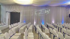 Husse Baumwolle zu mieten. Curtains, Home Decor, Organization, Event Management, Pavilion, Outdoor Camping, Interior, Wedding, Cotton