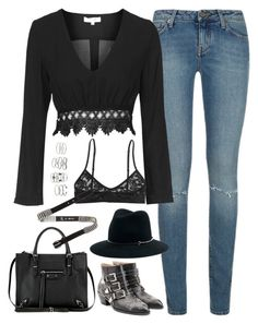 A fashion look from June 2016 featuring lace blouses, ripped jeans and lingerie bra. Browse and shop related looks. Really Cute Outfits, Cute Comfy Outfits, Edgy Outfits, Dance Outfits, Fall Outfits, Fashion Outfits, Womens Fashion, Grunge Outfits, Elegant Outfit
