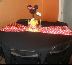 Classic Minnie mouse baby shower