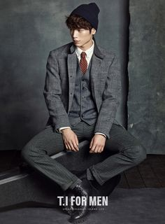 T.I For Men F/W 2014 Ad Campaign Feat. Seo Kang Joon | Couch Kimchi