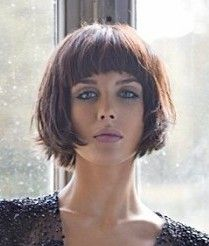 medium brown straight coloured messy iconic defined-fringe hairstyles for women . - medium brown straight coloured messy iconic defined-fringe hairstyles for women - Simply Hairstyles, Fringe Hairstyles, Short Bob Hairstyles, Hairstyles Haircuts, Cool Hairstyles, Medium Hair Cuts, Short Hair Cuts, Medium Hair Styles, Short Hair Styles