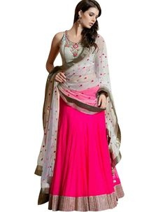 Buy Branded Women's Pink Embroidered Lehenga Choli Online at low price in India from Hi2buy.com. Check out our huge collection of Women-Ethnic-Wear products online. Genuine Products with free shipping,COD