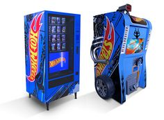 Vending machine and Game machine for Hot Wheels for shopping centers in São Paulo. Hot Wheels, Vending Machine, Arcade Games, Old And New, Google, Shopping, Chicken, Back To The Future