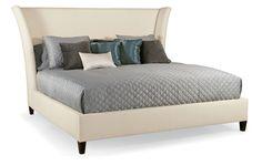 Flare Upholstered Bed | Bernhardt