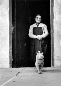 """© Nino Migliori - From the series: """"Gente dell'Emilia"""", 1956. °"""
