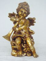 Angel Standing with Trumpet