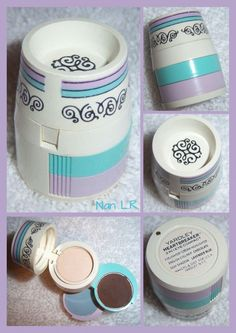 Vintage Yardley Heartbreaker 3 In 1 Eye Compact. The contents include  Cream Highlighter Eyelighter, CHOCOLATE English Eyeliner and LAVENDER BLUE Sigh Shadow. Sold for $100 in 2015.