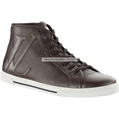 Louis Vuitton Punchy Sneaker boot In Grained Calf Leather YPFU2PGC_C BUG