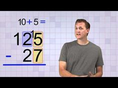 This is a great video to show to the class to start or review regrouping with addition and subtraction. Get the link here plus much more on regrouping.