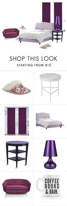 """""""purple teens room"""" by jaydenjohnson404 ❤ liked on Polyvore featuring interior, interiors, interior design, home, home decor, interior decorating, Bedroom Athletics, ferm LIVING, Ellery Homestyles and Skyline"""