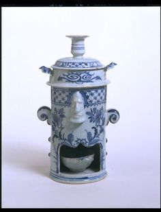 1760-1770 British Food-warmer at the Victoria and Albert Museum, London