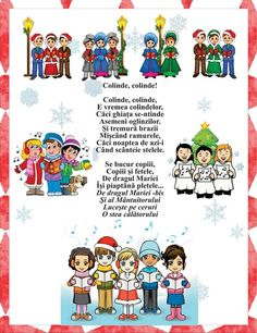 Anul Nou, School Lessons, Nursery Rhymes, Poems, Language, Education, Winter, Actresses, Winter Time