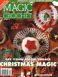 Magic Crochet Christmas - Sharon Graham - Álbuns da web do Picasa...FREE MAGAZINE!!