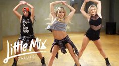 awesome Little Mix - Salute (Dance Tutorial) Hip Hop Dance Classes, Belly Dancing Classes, Pole Dancing, Dance Workout Videos, Dance Videos, Dance Workouts, Dance Exercise, Dance Choreography, Dance Moves