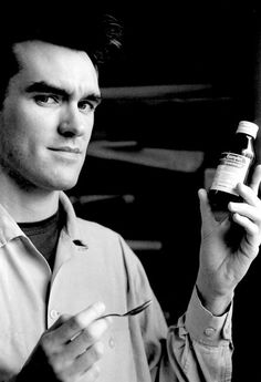 Please Morrissey I'm ill come and kiss me better and give me medicine ;D <3