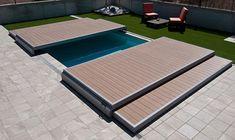 Αποτέλεσμα εικόνας για couverture de piscine en bois
