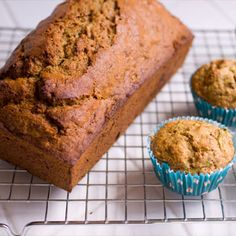 ZUCCHINI CHIP MUFFINS  Per serving (one muffin): 175 calories, 4.5g fat, 30g carbohydrates, 3.5g fiber, 3.5g protein