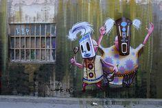 Street art | Mural by Dome [aka Christian Kraemer]